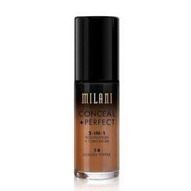 Glam Gals 2 in 1 Matte Foundation + Concealer 03 Golden Toffee