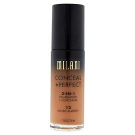 Glam Gals Conceal+ Perfect 2in 1 Matte Foundation Concealer Spiced Almond 2.