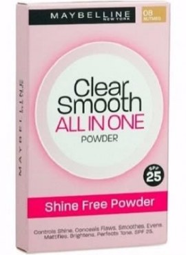 Maybelline Clear Smooth All-in-One Powder 08 Tofee