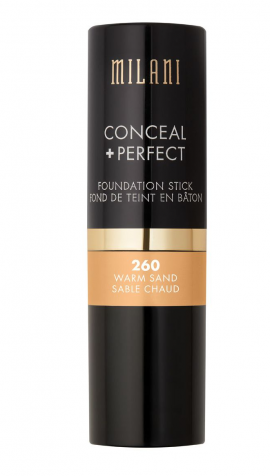 Milani Conceal +Perfect Foundation Stick 260 Warm Sand
