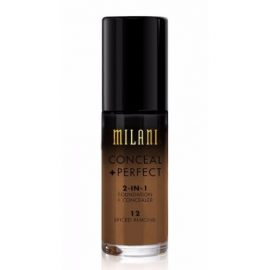 Milani Conceal+Perfect Foundation Spiced Almond 12