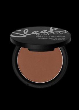 Sleek Makeup Pressed Powder Superior Cover Tropical Bronze.
