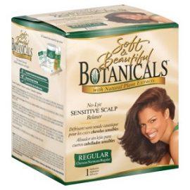 Soft & Beautiful Botannicals No Lye Relaxer, Regular