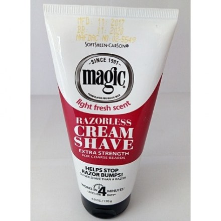 Softsheen Carson Magic Razorless Cream Shave Extra Strength