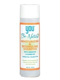 You Be Natural Moisturizing & Detangling Shampoo
