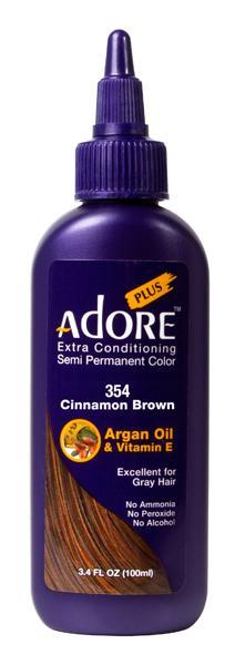 Adore Extra Conditioning 354 Cinnamon Brown