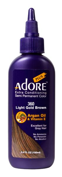 Adore Extra Conditioning Light Gold Brown