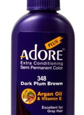 Adore Extra Conditioning Plum Brown