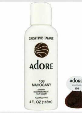 Adore Shining Semi Permanent Hair Color 106 Mahogany