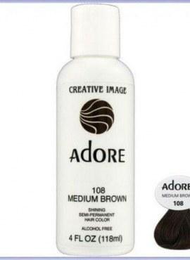 Adore Shining Semi Permanent Hair Color 108 Medium Brown
