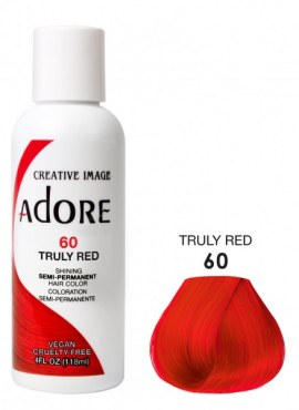 Adore Shining Semi Permanent Hair Color 60 Truly Red