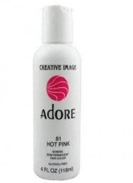 Adore Shining Semi Permanent Hair Color 81 Hot Pink