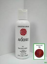 Adore Shining Semi-permanent Hair Color 70 Raging Red