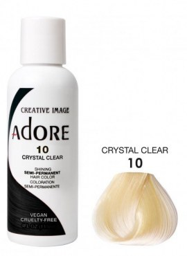 Adore Shinning Semi-Permanent Hair Color 10 Crystal Clear
