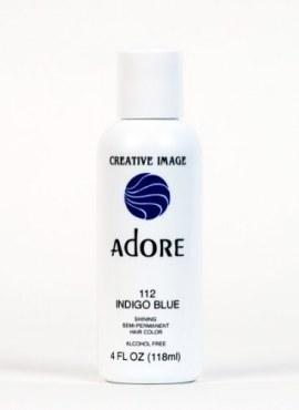 Adore Shinning Semi-Permanent Hair Color 112 Indigo Blue