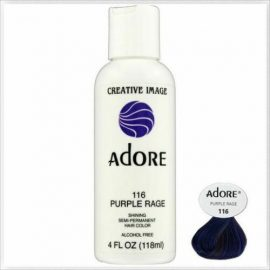 Adore Shinning Semi-Permanent Hair Color 116 Purple Rage