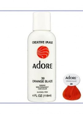 Adore Shinning Semi-Permanent Hair Color 39 Orange Blaze