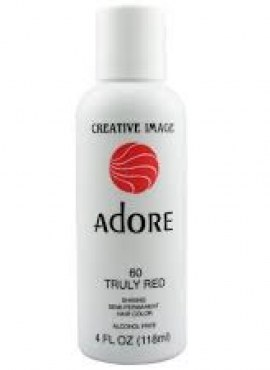 Adore Shinning Semi-Permanent Hair Color 60 Truly Red