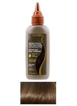Clairol Beautiful Collection Advanced Gray Solution Rich Dark Brown