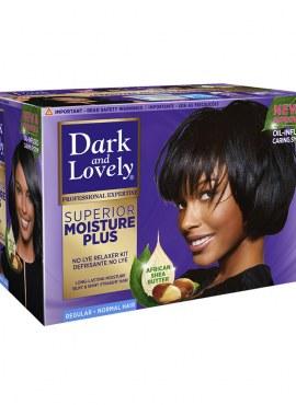 Dark and Lovely Superior Moisture Plus Relaxer Regular