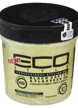 Eco Styler Black Castor & Flaxseed Oil Gel 16oz