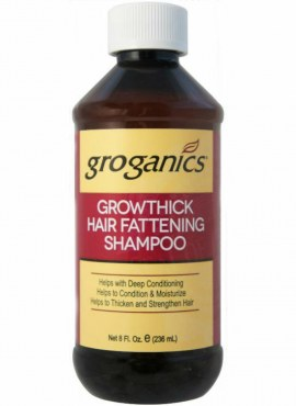 Groganics Grow Thick Hair Fattening Shampoo