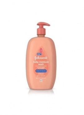 Johnson's Baby Moisture Wash Honey Apple 828ml